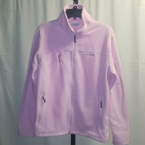 Columbia Fleece Jacket Breast Cancer Awareness